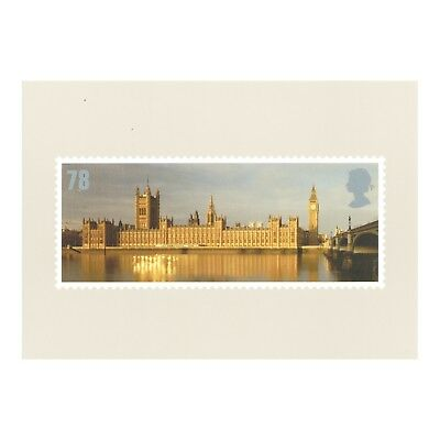 Houses Of Parliament - Celebrating England Royal Mail Series Cgb2 2007 Postcard