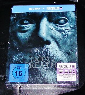 Don't Breathe Limited Steelbook Edition Blu-Ray Fast Shipping New & Vintage