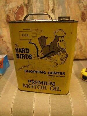 YARD BIRDS  Chehalis / Olympia, WASHINGTON - 2 Gallon  SAE 30 Premium Oil Can
