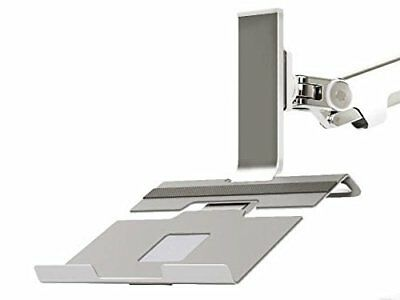 Humanscale M2NHS Silver Notebook Mount Laptop Holder bracket for M2 or M8 Monito