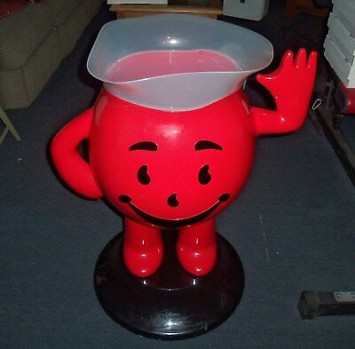 Kool Aid Man Plastic Advertising Display