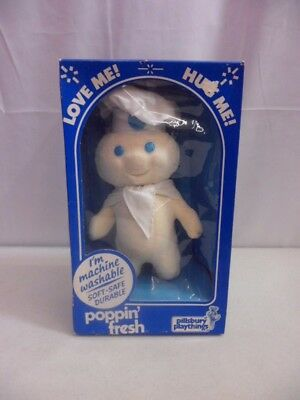 Vintage Pillsbury Playthings Poppin' Fresh Doll With Box