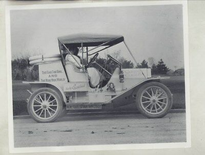 1910 Willys Overland 1st Woman Aviator Blanche Scott Factory Photo wy8161
