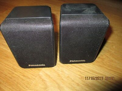 Panasonic Home Theater Surround Sound Two Speakers SB-HS480 w/ wire