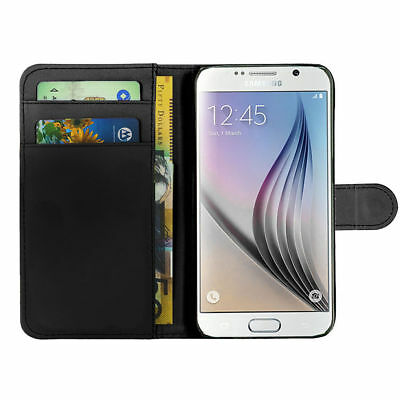 PU Leather Book Wallet Magnetic Flip Phone Case Cover Samsung Galaxy S7 EDGE, S8