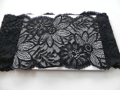 Card of  New Stretch Lace - Black