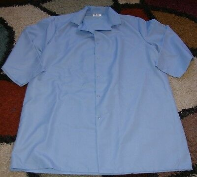 "Best Medical Unisex L/S Lab Coat Snaps W/ Pocket Knit Cuffs 43"" Length Sz XL"