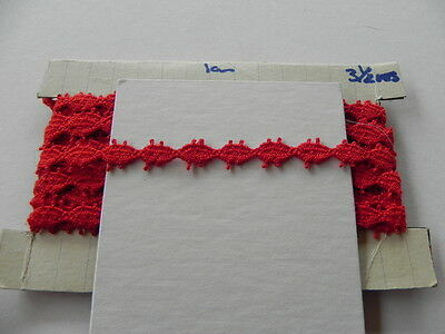 Card of New Lace - Red Cotton