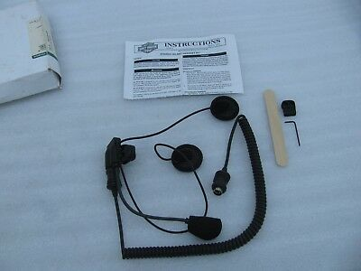 New Harley Davidson Stereo Helmet Headset kit 77147-98 Ultra Classic Touring