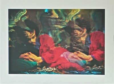 JIMI HENDRIX Rare Limited Edition IRA COHEN Print From the MYLAR CHAMBER Psych.