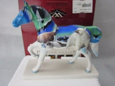 """Northern Lights"" Trail of Painted Ponies #12249 Figurine w/Box 2E/6923"