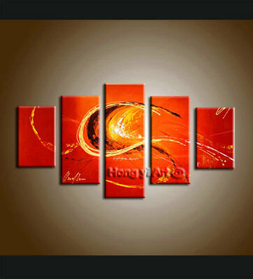 Large MODERN ABSTRACT OIL PAINTING On Canvas Contemporary Wall Art Decor FT1004