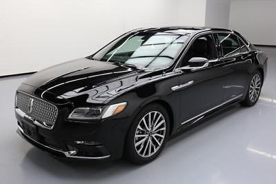 2017 Lincoln Continental Select Sedan 4-Door 2017 LINCOLN CONTINENTAL SELECT LEATHER SUNROOF NAV 14K #609570 Texas Direct