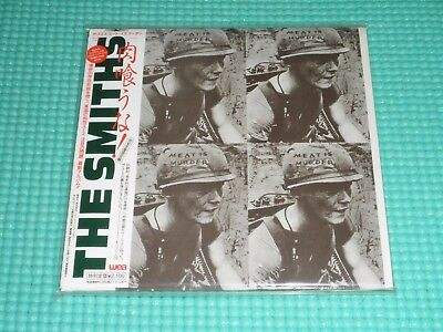 THE SMITHS Promo Mini LP CD Meat Is Murder Japan New WPCR-12440 OBI