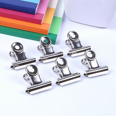 Stainless Steel Bulldog Clips File Paper Binder Clothes Pegs Clamps 50mm 75mm