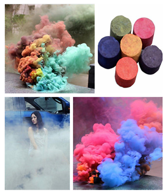 Colorful Smoke Cake Smoke Effect Show Round Bomb Photography Divine Aid Toys