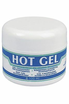 Lubrix Hot gel pot 100ml Recommandé par le Docteur Jacques Waynberg