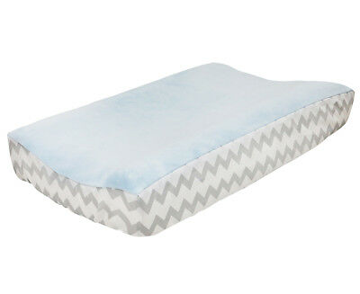Little Haven Zoom Along Changing Pad Cover - Blue