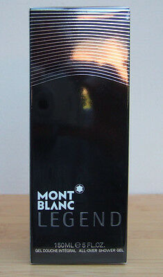 MONTBLANC LEGEND MENS SHOWER GEL 150ml  NEW SEALED