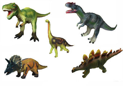 Large Soft Foam Rubber Dinosaur Play Toy Animals Action Figures Kids Dino Toys