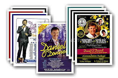 DANIEL O'DONNELL - 10 promotional posters  collectable postcard set # 1