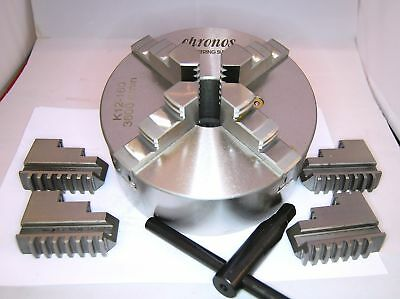 160 MM 4 Jaw Self Centering Lathe Chuck (Ref: K12160) From Chronos