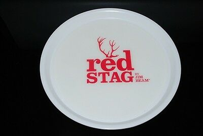 Red Stag Tablett - Serviertablett gummiert - Gastro Tablett - Jim Beam Tablett