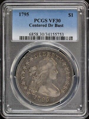1795 $1 Centered Dr Bust Draped Bust Dollar PCGS VF30