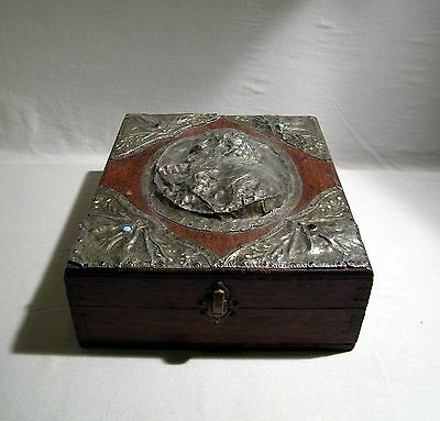 Handmade Box Art Nouveau / Arts And Crafts European - First Session  Decorated