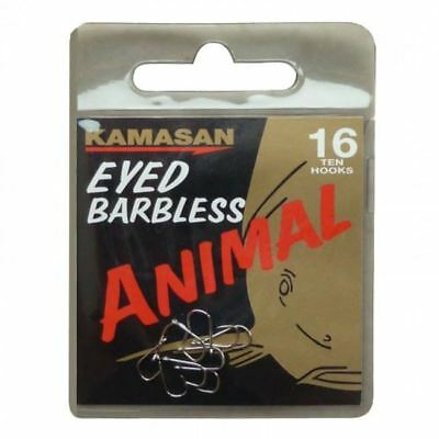 Kamasan Animal Barbless Eyed Hook - Kamasan Animal Hooks