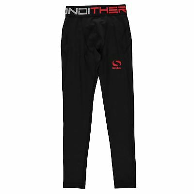 Sondico Kids Boys Thermal Tights Baselayer Pants Trousers Bottoms Compression
