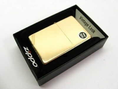 ZIPPO Full Size Vintage High POLISH BRASS w/ Slashes Windproof Lighter! 270