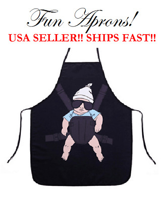 HangOver Baby Carlos Boba Manduca LILLEbaby Kitchen Cooking Dinner Cuisine Apron