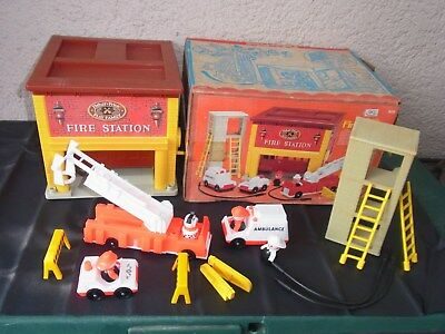 "Fisher-Price "" Fire Station 928 "" aus 1980 in OVP"