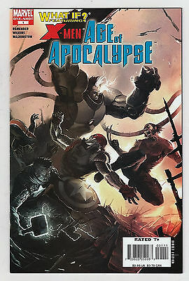 What If X-Men Age of Apocalypse 1 NM One Shot Marko Djurjevic Marvel Comics Book