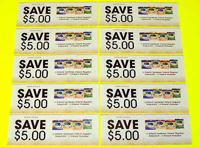 10 - $5.00 off Coupons on Enfamil Formula Gentlease, AR, Prosobee Exp 4/30/18