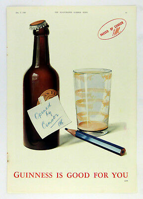 Original 1940 Guinness Advert Guinness Is Good For You Ge 986