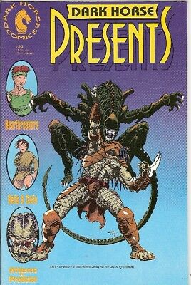 Dark Horse Presents #36 (1St Aliens Vs Predator Story) 1990