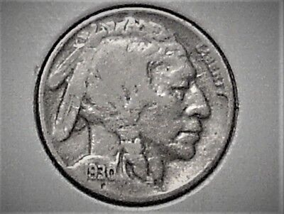 1930S Buffalo Nickel Very Good