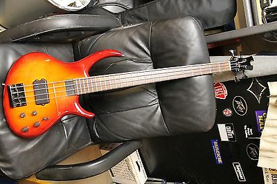 Tobias Growler 4 string Electric Bass Guitar made in USA. 1997