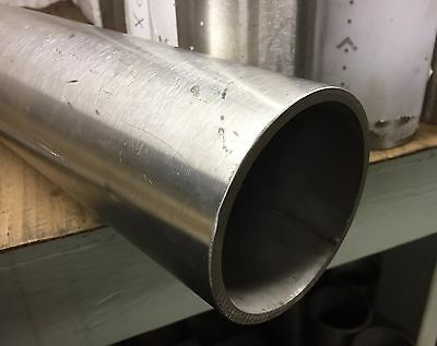 "4"" OD x 3.5"" ID x 6"" Long - Grade 304 Stainless Steel Tube Pipe"