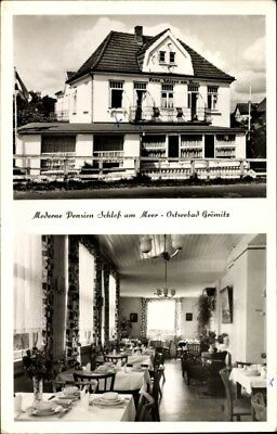 Ak Grömitz in Ostholstein, Moderne Pension Schloß am Meer,... - 1194498
