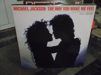 "Michael Jackson: The Way Your Make Me Feel-Special 12"" Mixes, 4 Songs"
