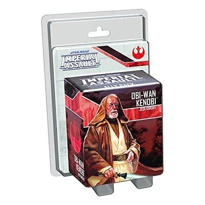 Fantasy Flight Games FFGSWI29 Star Wars Imperial Assault Obi-Wan Ally Pack Plast