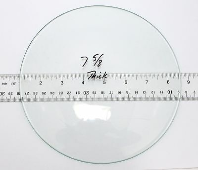 """New Old Stock  Thick 7 5/8"""" Convex Clock Glass  Kc196"""