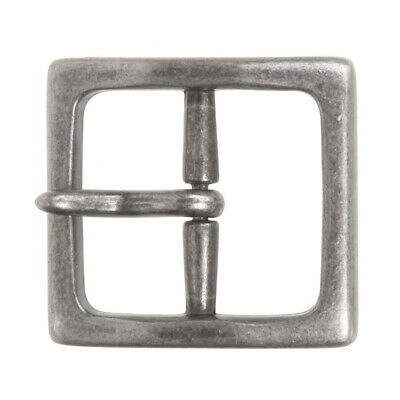 "1 1/2"" (40 mm) Nickel Free Center Bar Single Prong Square Belt Buckle"
