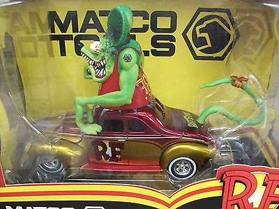 Matco Tools Ed Roth Rat Fink 1940 40 Ford Coupe Classic Vintage Hot Rod Car LE