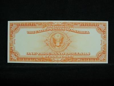 NobleSpirit NO RESERVE {3970} ABN Archive $1,000 Gold Cert Uniface Trial Proof