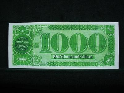 NobleSpirit NO RESERVE {3970} ABN Archive $1,000 Uniface Trial Proof On Card