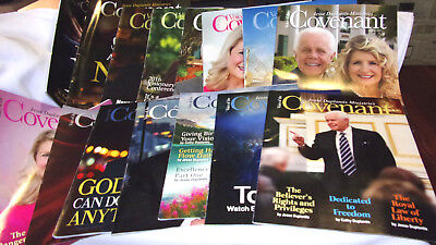 15 Back Issues- Voice Of The Covenant- Jesse Duplantis Ministries-Great Articles